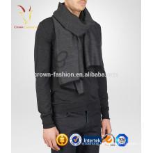 Fashion Cashmere Scarf Free Knitting Pattern for Men