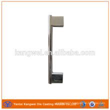 Zinc alloy and zinc die casting handle