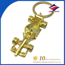 Cool style car shape metal key chain with great quality