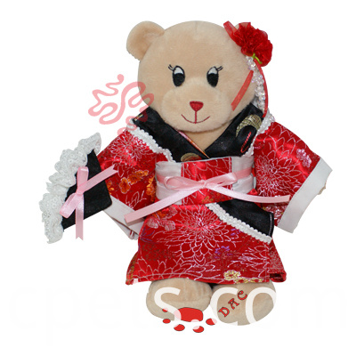 clothes teddy bear
