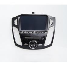 Quad core carro usb media player, wi-fi, BT, espelho link, DVR, SWC ford focus 2015
