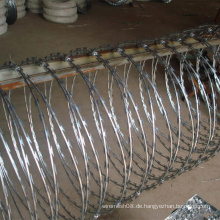 Rostfreier Stahl Razor Barbed Steel Wire