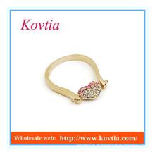 HOT SALE preço do anel de casamento de ouro da Arábia Saudita
