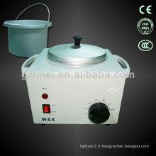 Cire à fondre à usage domestique mini réchauffeur de cire équipement de cire épilatoire