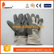 Graue PVC-Handschuhe mit weißer Baumwolle Zurück Dgp106