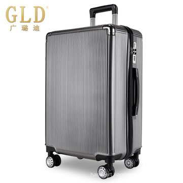 New fashionable colorful luggage bags with silent wheels