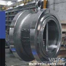 Литая сталь Тип вафли или вафельные проверить Клапан без шлема