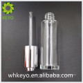 30ml Hot sale high quality clear empty cosmetic glass bottle with press dropper