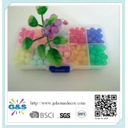 Multicolored DIY Plastic Beads Set for Kids