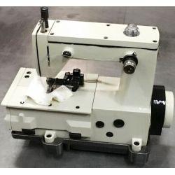 Maszyna do szycia z podwójną łańcuszkową rękawicą z nożem
