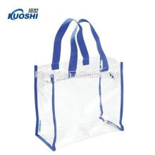 Fabricação clara saco de pvc personalizado