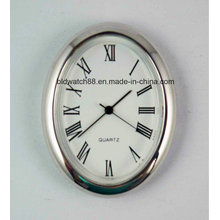 저렴한 미니 쿼츠 시계 은색 은색 금속 시계 선물을 삽입
