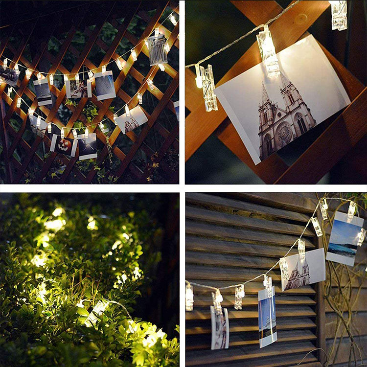 photo clip led fairy lights