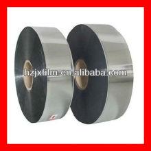 silver polyester yarn grade film