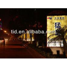 publicidad exterior reflectante digital solvente de impresión