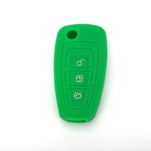 Ford Focus 3 Knappar Silicone Remote Key Cover