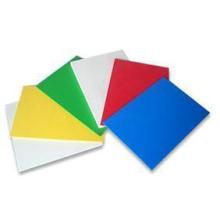 Hoja de PVC de color