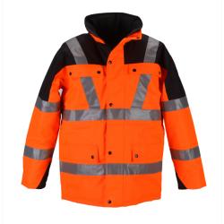 High visibility safety jackets reflective jacket