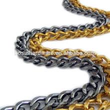 Модная высококачественная металлическая алюминиевая бордюрная цепь