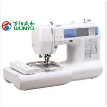 Máquina de bordar de segunda mão Máquina de costura e bordado de uso doméstico
