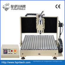 Máquina de roteador CNC para madeira com eixo importado de alta precisão