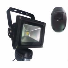 Caméra Floodlight led avec détection de capteur de pir pir de caméra extérieure IP cctv