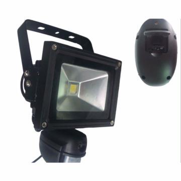 led floodlight cam with outdoor cctv IP wifi camera pir sensor detection
