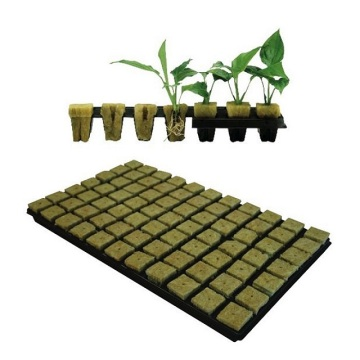 Agricultural Hydroponic Rock Wool For Seedling