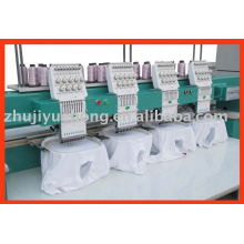 9 colors 4 heads computer embroidery machine price cap t-shirt flat embroidery
