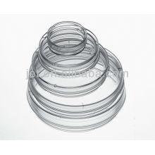 Pratos descartáveis de Petri de plástico Petri