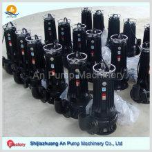 Bomba de esgoto submersível centrífuga de plantas de tratamento de água