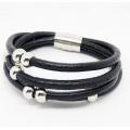 Bracelet en cuir de haute qualité en gros Bracelet à la mode en Europe # 31551