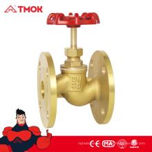 """6 """"Rising Stem Flange Ends Válvula de parada manual / válvula de globo Válvula de detención de doble brida para gas con alto rendimiento"""