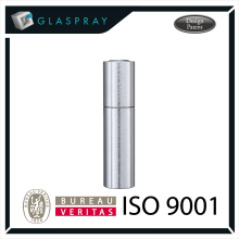 KIRA CNC 20ml Alliage d'aluminium Twist Up Refillable Parfum Voyage Spray