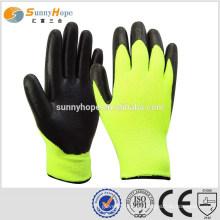 SUNNYHOPE guantes industriales de goma de invierno