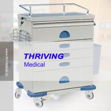 Медицинская тележка для анестезии высокого качества (THR-ZY104)