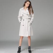 OEM 2015 High Quality European Western Style Women Overcoat