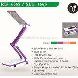 Fast-selling,colorful folding led desk lamp,LED Lamp rechargeable folding desk lamp SLT-666