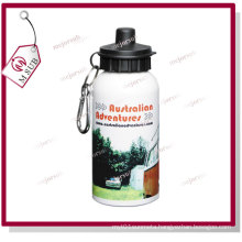 400ml White Color Sublimation Logo Printed Water Bottle