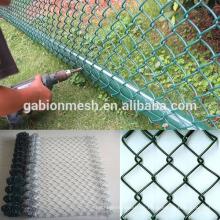 Valla de enlace de cadena galvanizada (fábrica)