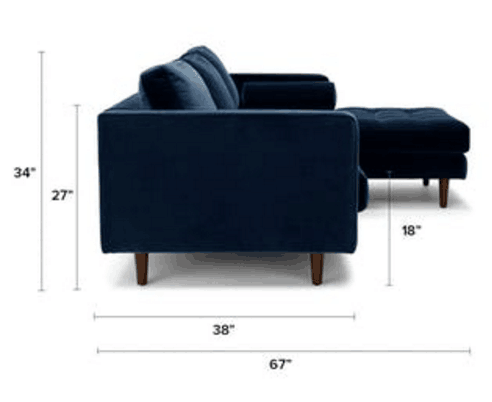 Most popular Sven Intuition Luca Sectional sofa KS052