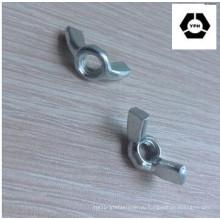 DIN314 Нержавеющая сталь Крыло Гайка / Бабочка Крыло Гайка