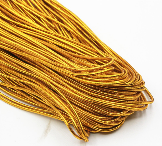 Wholesale Gold Metallic Cord