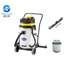 Plastic 60L Dry Vacuum Cleaner with Squeegee
