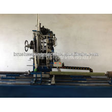 2 axis round brush tufting machine