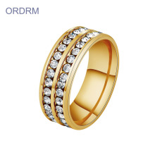 Wholesale 14k Gold Plated Cubic Zirconia Rings Jewelry