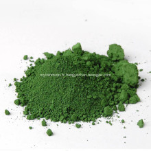 Pigment céramique vert oxyde de chrome Cr2o3