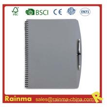 Gery PVC Cover Notebook para escola e material de escritório