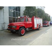 Alta segurança 4 tonelada de água tanque caminhão de bombeiros