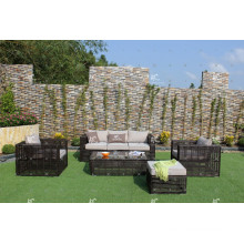 Eagle Collection - Hot selling Synthetic PE rattan living sofa set garden outdoor furniture
